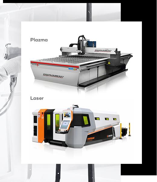 Plasma and laser
