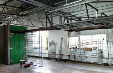 Pulverlackeringsanläggning