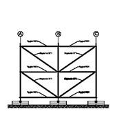 Construction – 6,0x4,0m – version A fixées sur les ballasts