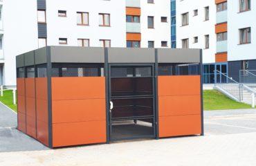 Skyddsrum för sopor