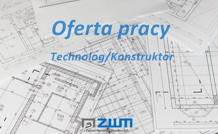 Technolog/Konstruktor