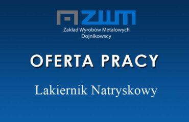 Lakiernik Natryskowy