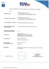 zał. cert 3834 DE